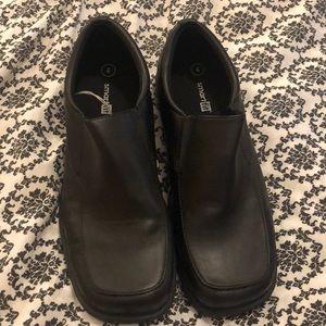 Other - Dress up does slip on loafer boys size 4 black